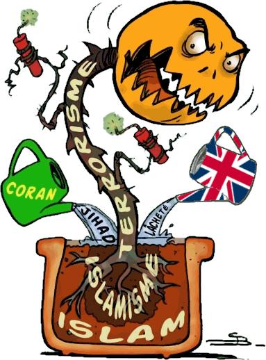 Terreau Britannique du terrorisme